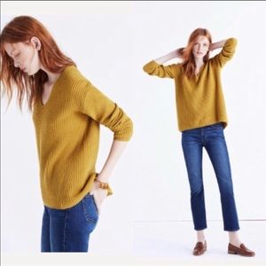 *NWT* Madewell V-Neck Sweater XS